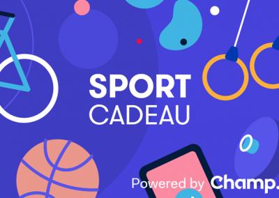 27/09/2019 – BODY•LIFE – Champ lanceert dit najaar de Nationale Sport Cadeaukaart