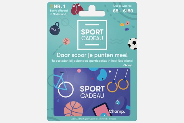 08/01/2020 – Blackhawk Network en Champ lanceren grootste sport-cadeaukaart van Nederland
