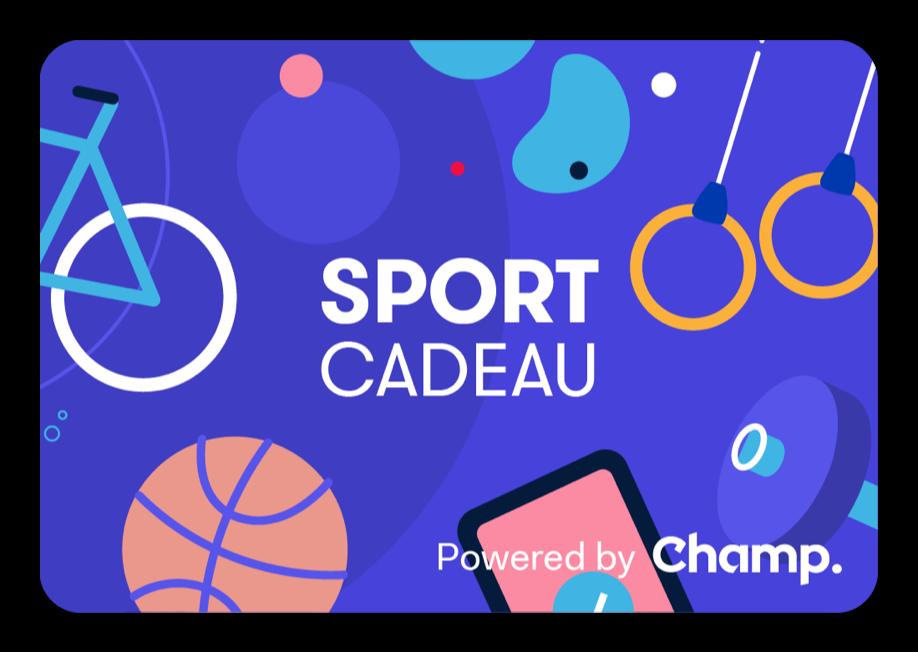 SportCadeau giftcard van Champ