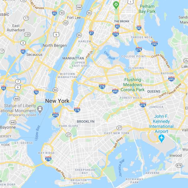 New York Plattegrond