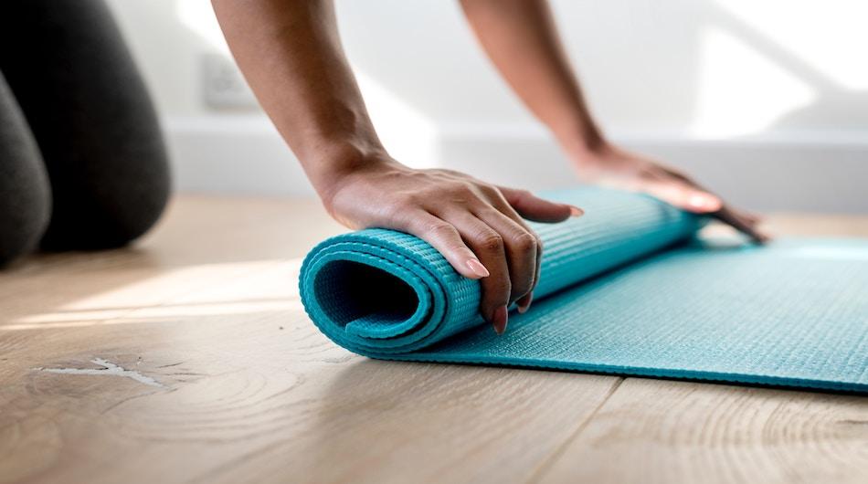 Unsplash pilates mat 1