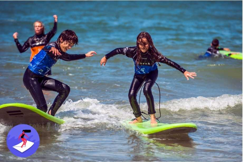 port cadeau - surfen voor kids - Champ